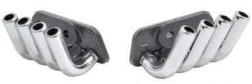 Zoomies Mock Exhaust Headers chrom