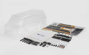CARISMA Karosserie SCA-1E PRAIRIE WOLF Clear Body Set ( 324WB)
