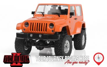 RC4WD 1/18 Gelande II RTR w/ Black Rock Body Set (Orange)