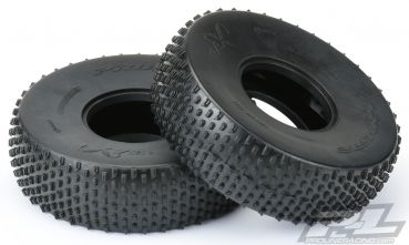 "Ibex Ultra Comp 2.2"" Predator (Super Soft) Rock Terrain Truck Tires for Front or Rear 2.2"" Comp Crawler"