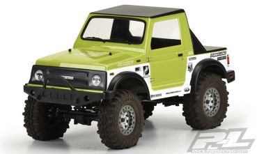 "Sumo Clear Body for ECX Barrage, FTX Outback and 10"" (254mm) Wheelbase Scale Crawlers"