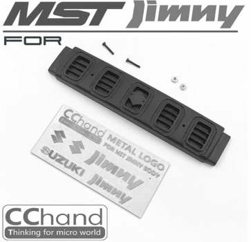 MST Jimny J3 Grill & Metal Logo Decal for MST 1/10 CFX