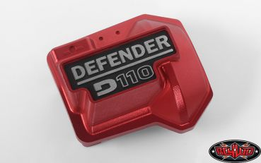 Defender D110 Diff Cover for Traxxas TRX-4 (red) 1Stk