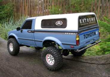 tamiya toyota hilux front karosserie. Black Bedroom Furniture Sets. Home Design Ideas