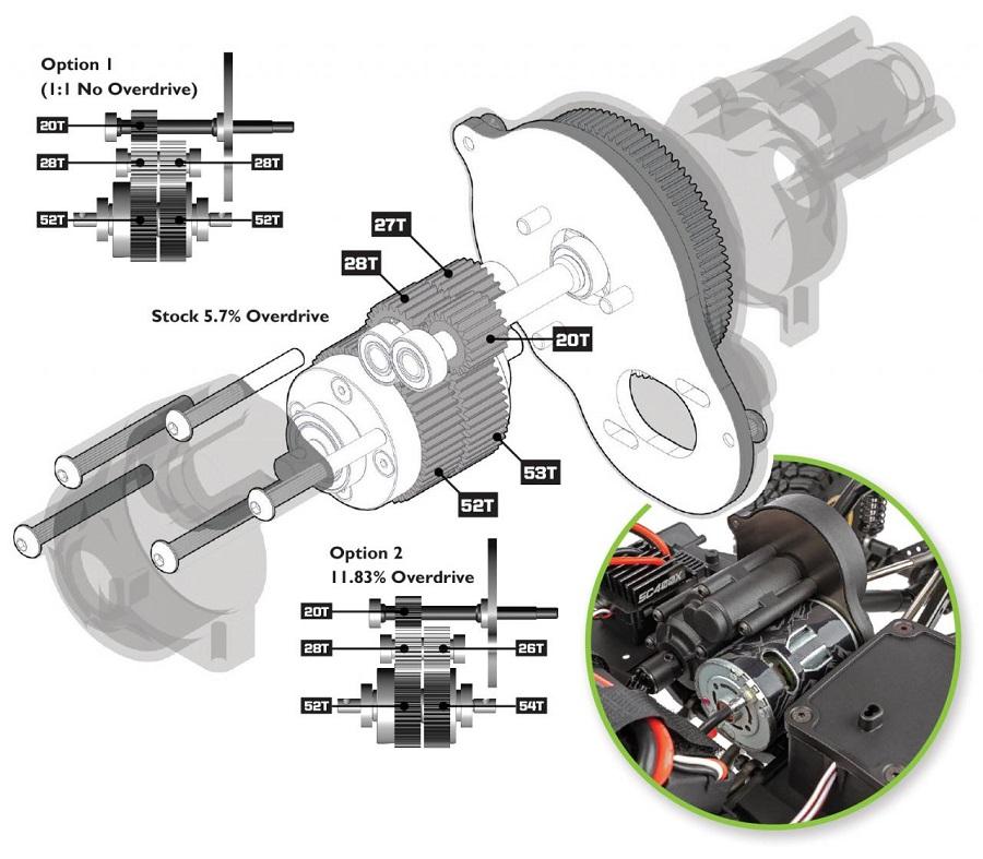 RC Rock Crawler Stahlseil im Maßstab 1:10 für Axial SCX10 RC4WD Front Body